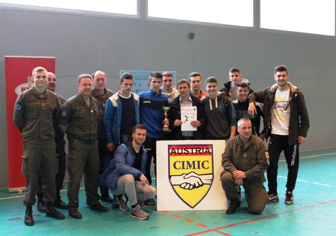 "Pobjeda u Regionalnom takmičenju ""Youth Indoor Football Cup"""